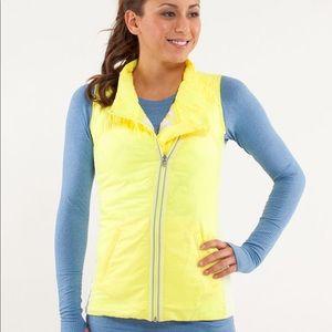 Lululemon What the Fluff Reversible Running Vest